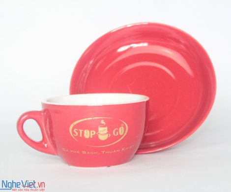 Ly Sứ In Logo MNV-LSL08