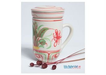 Ly lọc trà Chuồn chuồn Đỏ MNV-PTCĐ02
