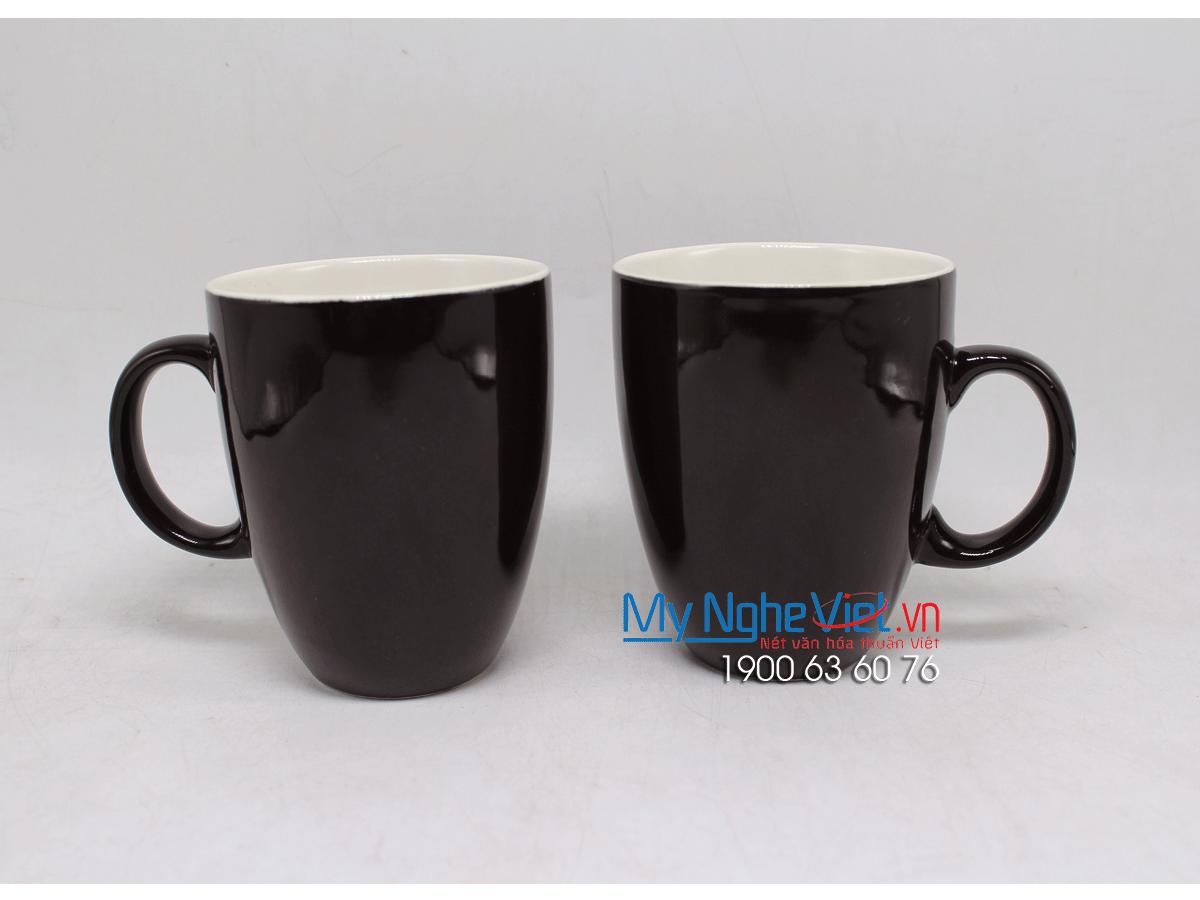 Combo ly latte nâu trơn MNV-LS008-1