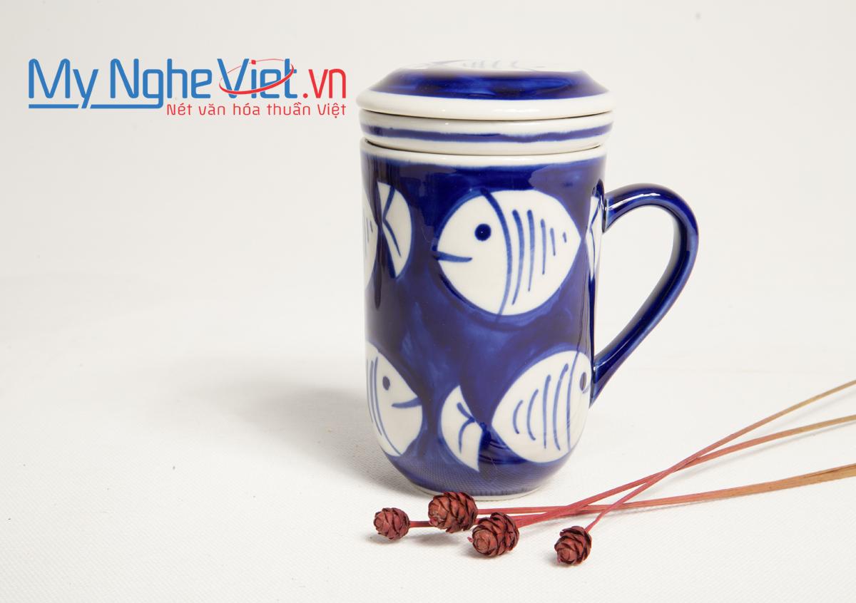 Ly lọc trà hình cá MNV-PTCX04